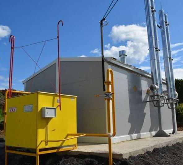 строительство газовой котельной в шумском поселении