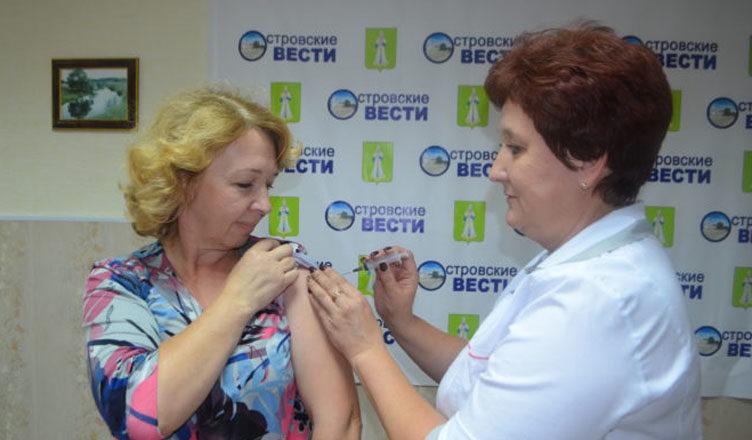 Получат прививки отгриппа как минимум 40% южноуральцев